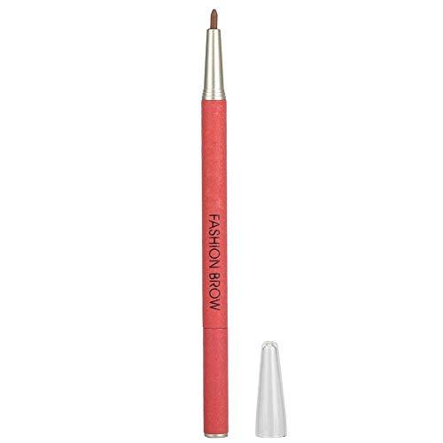 Crayon à sourcils Double tête Crayon à sourcils Imperméable à l'eau anti-transpiration(marron)