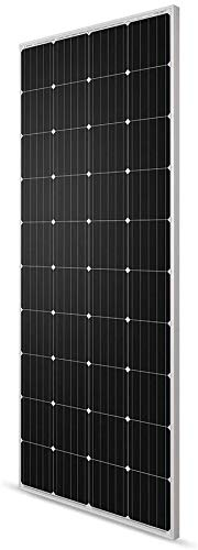 Renogy 200 Watt 12 Volt Monocrystalline Solar Panel, Compact Design and High Efficiency Module PV Power for Camper, Vehicle Caravan and Any Other Off Grid Applications