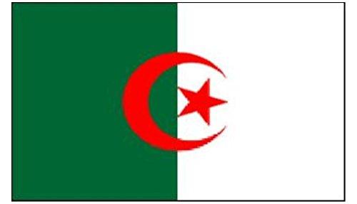 Algerijnse Nationale Vlag 5FT X 3FT