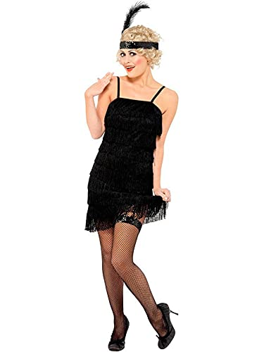 DISBACANAL Disfraz años 20 Charleston Mujer - X