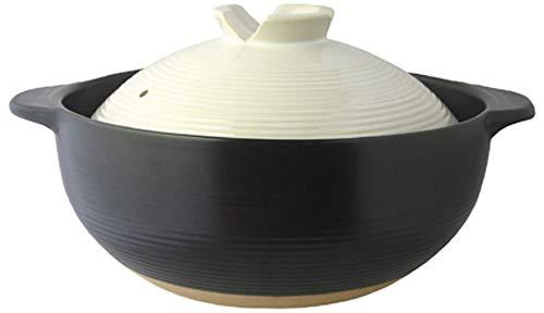 リビング 土鍋 8号 3-4人用 ふきこぼれにくい 土鍋 ご飯 宴