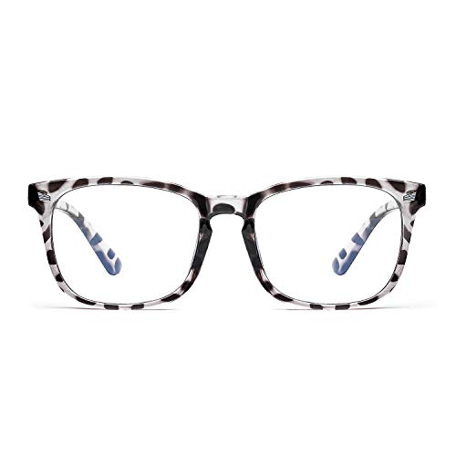 FEIDU Blue Light Blocking Glasses Square Nerd Eyeglasses Frame Anti Blue Ray Computer Game Glasses