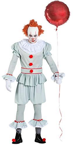 Car&Gus Déguisement de Clown Térrifiant pour Homme
