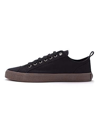 Ethletic Unisex Sneaker Lo Fair Sneaker Goto Lo Jet Black 45 Fair | Vegan | Nachhaltig