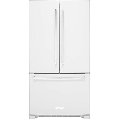 KitchenAid KRFC300EWH KRFC300EWH 20 Cu. Ft. White Counter-Depth French Door Refrigerator