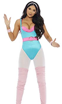 Forplay Women s So Plastic Sexy Doll Character Costume Blue S/M