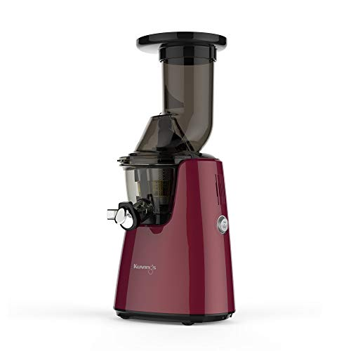 Kuvings Whole Slow Juicer Elite C7000P - Higher Nutrients and Vitamins, BPA-Free Components, Easy to Clean, Ultra Efficient 240W, 60RPMs, Red