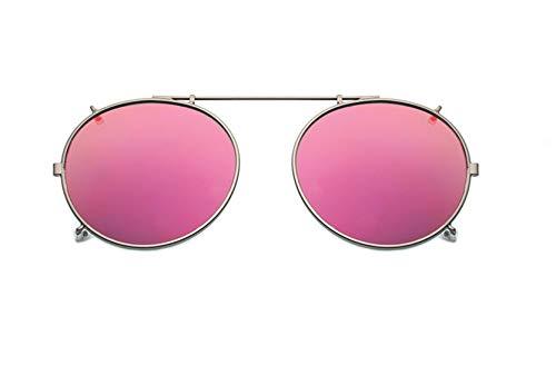 clip on gafas de sol gafas de sol polarizadas uv400 – ajuste cómodo y seguro sobre gafas de sol con prescripción, ideal para conducción y al aire libre gafas de sol polarizadas clip lentes de espejo