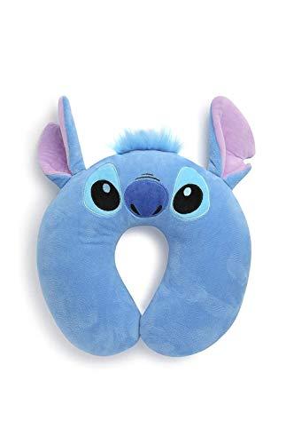 Disney Stitch Travel Pillow Neck Rest Holiday Cushion
