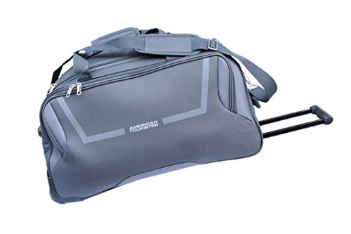 American Tourister Canvas Duffle Bag (Grey_COSMO57GREY)