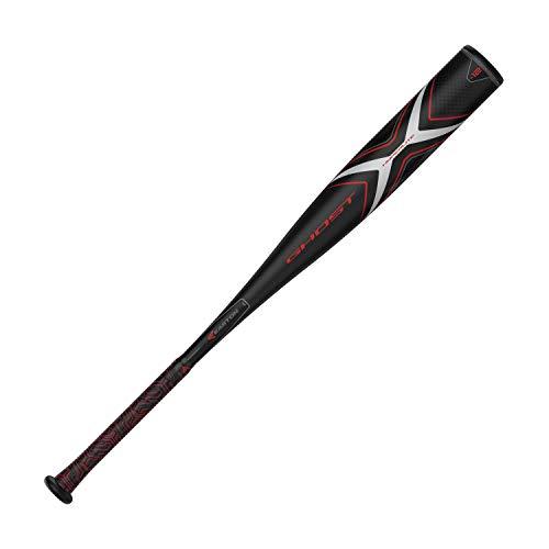 "Easton Ghost X Hyperlite -12 (2 3/4"") USSSA Senior League Baseball Bat | 28 inch/16 oz | 2019 | 1 Piece Composite | EXACT Carbon | Speed End Cap | Lizard Skin Grip, Multicolor, 8065598"