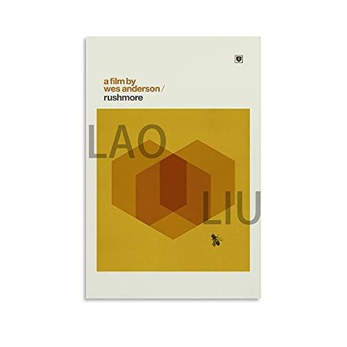 LAOLIU Rushmore - Póster de película inspirado en la decoración de la...