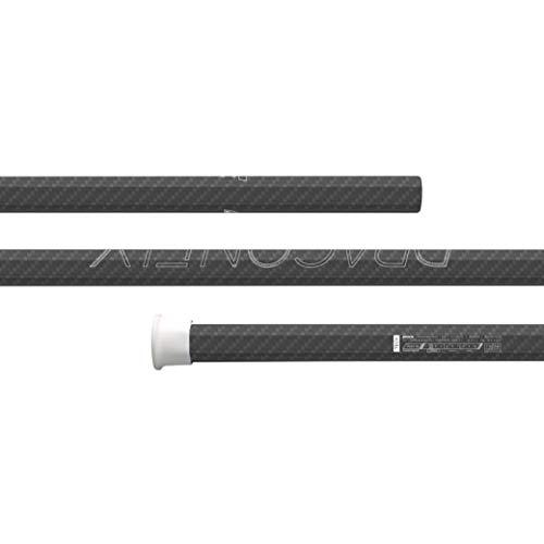 Epoch Dragonfly Elite Lacrosse Shaft for Goalies, Stiff-Flex iQ2, C40, Carbon Black