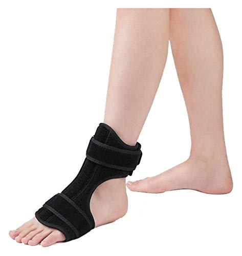 QAZW Elastic Gut Fersensporn Nachtschiene for Fallfuß Knöchel Korrektur for Achillessehnenentzündung, Fersensporn Relief 1120