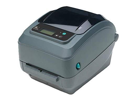 Zebra GX420t - Impresora de Etiquetas (Térmica Directa/Transferencia térmica, 203 x 203 dpi, 152 mm/s, Alámbrico, Ethernet, 8 MB)