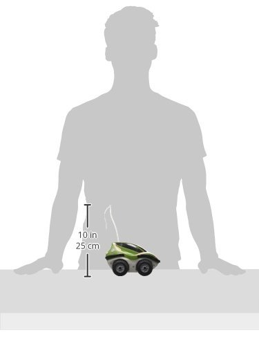 Amewi 22135, Land und Wasser Amphibienfahrzeug Rover Ferngesteuert, Grün