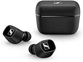 Sennheiser ゼンハイザー Bluetooth 完全ワイヤレスイヤホン CX 400BT True Wireless BLACK, ドイツ本社開発7mmドライバー、LDSアンテナ、Bluetooth...