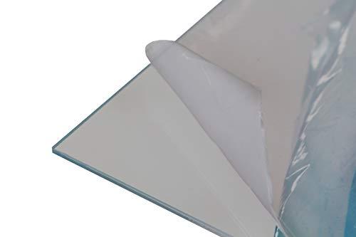 Metacrilato transparente, todos los grosores, perfecto para corte láser | Gran variedad de medidas | Corte a medida gratis (3mm, 80 x 60 cm)