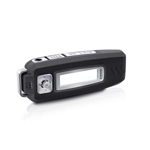 TREKSTOR CEBRAX 3.0 MP3-Player (4 GB Speicher, Display, Batteriebetrieb (AAA), lange Laufzeit, USB-Stecker, Mikrofon) schwarz