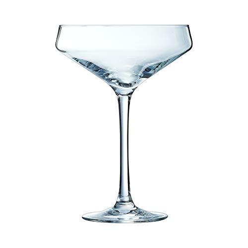 Chef & Sommelier Cabernet Sektschale, Sektglas, Krysta Kristallglas, 300ml, 6