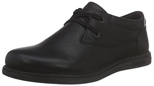 Birkenstock Shoes Unisex-Kinder Memphis Derby, Schwarz (Black), 29 EU