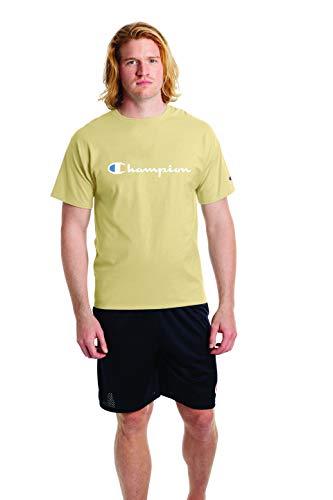 Champion Classic Graphic tee Camiseta, con Logo de Mantequilla Moldeada, M para Hombre