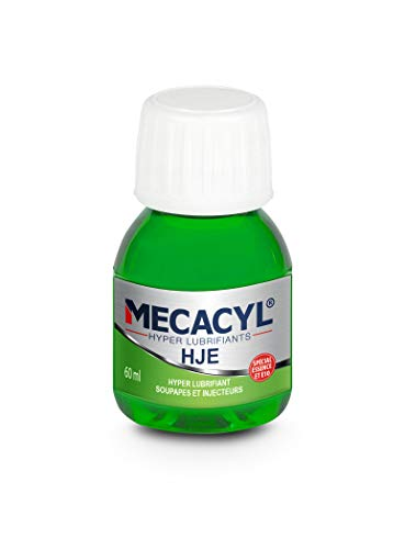 Mecacyl HJE - Flacon 60 ML - Hyper-Lubrifiant - Spécial Protection des Injecteurs - Moteur Essence pour Moto