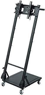 サンワサプライ テレビスタンド 折りたたみ 耐荷重10kg VESA対応 キャスター付き 高さ調整可能 24~42インチ対応 CR-LAST29