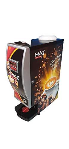 PRASHANTHA Teomatic Max 2 Lane Tea and Coffee Vending Machine with 250G Each Premix Tea Coffee Powder (Multicolour)