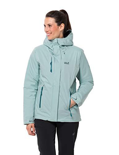 Jack Wolfskin Damen Troposphere Jacket W Wetterschutzjacke, green haze, S