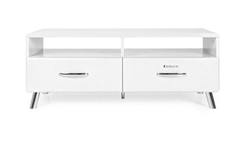 TENZO TV-Bank, Holz, 46 x 118 x 43 cm, weiß