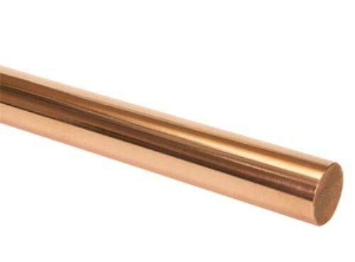 1 Pc of C14500 Alloy Limited time mart for free shipping 145 Tellurium Copper Rod Round 1-3 4