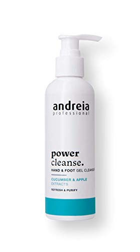 Andreia Professional Gel Nettoyant Mains & Pieds - Soin Mains & Pieds - Power Cleanse - 200ml