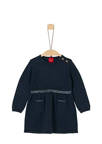 s.Oliver Baby-Mädchen 65.909.82.2994 Kleid, Blau (Dark Blue 5952), (Herstellergröße: 86)