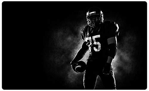 DesFoli American Football Spieler Wandtattoo Wandsticker Wandaufkleber R2084 Größe 70 cm x 110 cm
