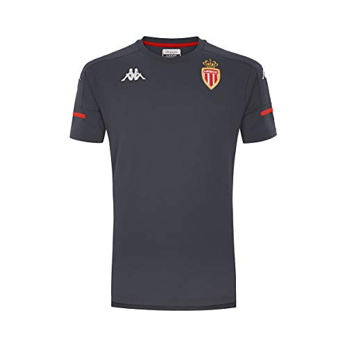 Kappa - T-Shirt Ayba 4 As Monaco - Man - L - Gris, Rouge
