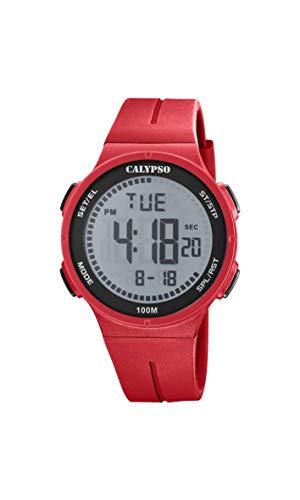 Calypso Reloj Digital para Unisex Adulto de Cuarzo con Correa en Plstico K5803/1