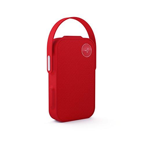 Libratone OneClick - Altavoz con Bluetooth y función SoundSpaces, color rojo