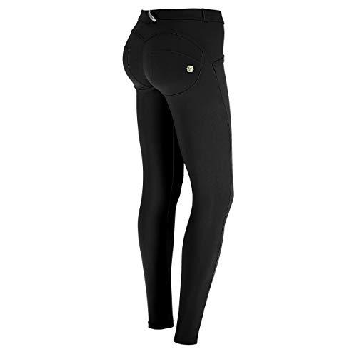 FREDDY Pantalone WR.UP Skinny a Vita e Lunghezza Regular in D.I.W.O. - Black - Small