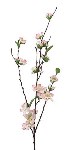 creativ home Künstlicher KIRSCHBLÜTENZWEIG ca 95 cm. Kirsch -Zweig mit Kirschblüten. ROSA -10