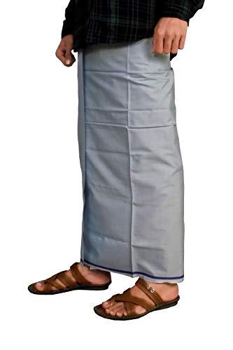 Riyashree men's cotton lungi for men free size 2 meter MenLungi 002