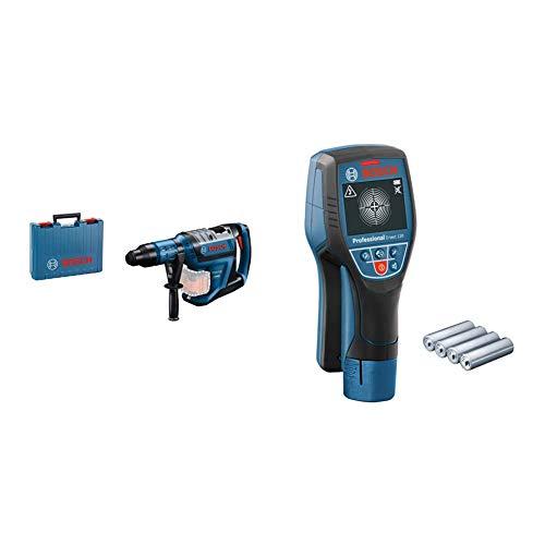 Bosch Professional Martillo perforador combinado a batería GBH 18V-45 C + Bosch Professional Detector de pared D-tect 120