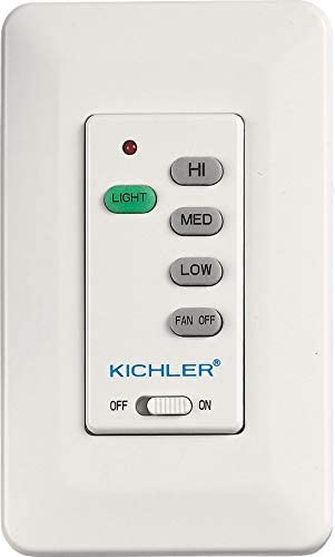 2021 Kichler outlet online sale 371065MULTR Wall Control lowest Transmitter, Multiple outlet online sale
