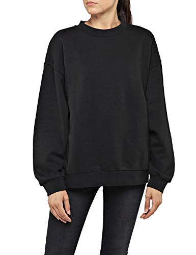 Replay Damen W3269C.000.21842 Sweatshirt, Schwarz (Black 098), XX-Small (Herstellergröße: XXS)