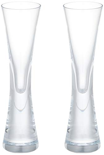 LSA Moya Likör-Glas/Schnapsglas/Vodka-Glas/Sambuca-Glas, 50 ml, handgefertigt, 2 Stück