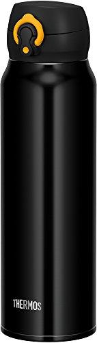 サーモス 水筒 真空断熱ケータイマグ 【ワンタッチオープンタイプ】 750ml ブラックイエロー JNL-753 BKY