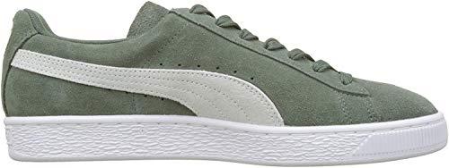 Puma Damen Suede Classic Wn's Sneaker, Grau (Laurel Wreath-Puma White 76), 36 EU