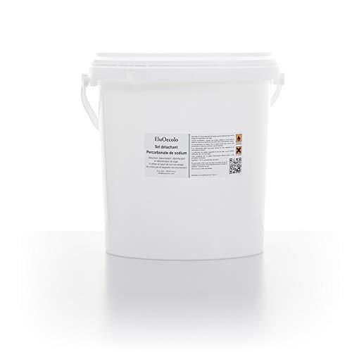 EluOecolo - Percabonate de Soude 6kg - Oxygène actif <12% - Détachant & blanchissant - Made in Nice