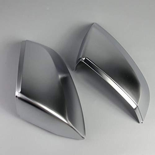 DJQNB Cubiertas de Espejo retrovisor, para Q7 2016-2021, Q5 2019-2021 Chrome Matt Cap Accessories Styling