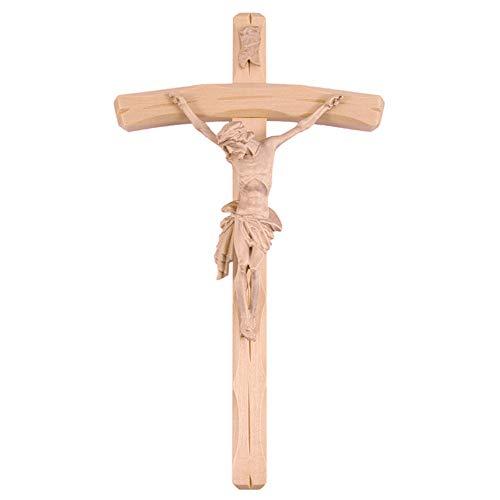 Fritz Cox® Wandkreuz mit Christuskörper - Holz-Kreuz ca. 36 cm mit Körper für zuhause
